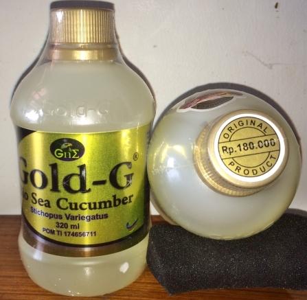 Obat Herbal Kejang-Kejang Jelly Gamat Gold-G
