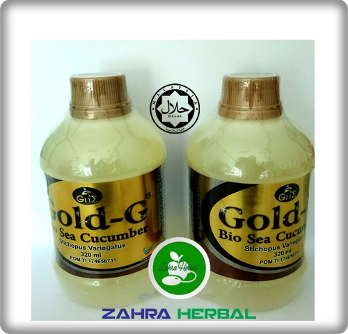Obat Herbal Flu Singapura Jelly Gamat Gold-G
